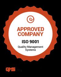 Selo Certificação ISO 9001